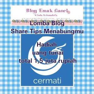 Lomba Blog Share Tips Menabungmu